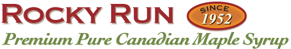 Rocky Run Premium Pure Canadian Maple Syrup